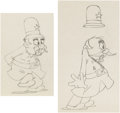 Animation Art:Production Drawing, Horse on the Merry-Go-Round Animation Drawings Group of 4(Columbia, 1938).... (Total: 4 Items)