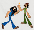 Animation Art:Production Cel, Cheech and Chong's Next Movie Animation Sequence Production Cels and Drawings Group of 18 (Universal Studios, 1980).... (Total: 18 Items)