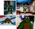 Animation Art:Production Cel, Teenage Mutant Ninja Turtles Leonardo, Michelangelo,Donatello, and Raphael Production Cel and Animation DrawingGroup... (Total: 5 Items)