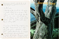 Eyvind Earle: Landscapes in Mystery Letters and Manuscript Group (American Artist,1971-72)