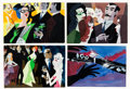 Animation Art:Concept Art, Victor Haboush Concept Paintings (John Sutherland, c. 1950s)....