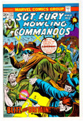 Memorabilia:Miscellaneous, Marvel Sgt. Fury and his Howling Commandos #117 Cover Proof (Marvel, 1974)....