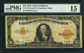 Large Size:Gold Certificates, Fr. 1173a $10 1922 Gold Certificate PMG Choice Fine 15.