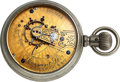Timepieces:Pocket (pre 1900) , Waltham A.C. Stanners Toronto Up Jeweled Gold Flashed Cres...