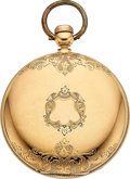 Timepieces:Pocket (pre 1900) , E. Howard & Co. Boston 18k Gold Series IV Key Wind. ...
