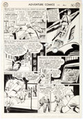 Original Comic Art:Panel Pages, George Papp Adventure Comics #174 Story Page 6 Original Art(DC, 1952)....