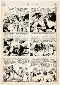 Dan Barry Action Comics #150 Story Page 9 Original Art (DC, 1950)