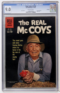 Four Color #1134 The Real McCoys - File Copy (Dell, 1960) CGC VF/NM 9.0 Off-white pages