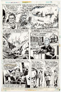 Original Comic Art:Panel Pages, Frank Robbins and Vince Colletta Giant-Size Invaders #1 Page16 Original Art (Marvel, 1975)....