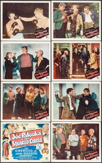 "Joe Palooka in the Squared Circle (Monogram, 1950). Lobby Card Set of 8 (11"" X 14""). Sports. ... (Total: 8 Ite..."