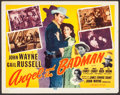 """Movie Posters:Western, Angel and the Badman (Republic, R-1959). Title Lobby Card (11"""" X 14""""). Western.. ..."""