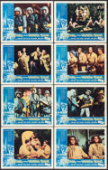 """Movie Posters:Science Fiction, Journey to the Seventh Planet (American International, 1961). LobbyCard Set of 8 (11"""" X 14""""). Science Fiction.. ... (Total: 8 Items)"""