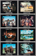 """Movie Posters:Western, Chisum (Warner Brothers, 1970). Lobby Card Set of 8 (11"""" X 14""""). Western.. ... (Total: 8 Items)"""