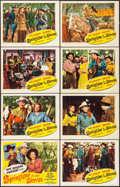 """Movie Posters:Western, Springtime in the Sierras (Republic, 1947). Lobby Card Set of 8 (11"""" X 14""""). Western.. ... (Total: 8 Items)"""