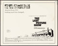 "Movie Posters:Drama, The Last Picture Show (Columbia, 1971). Half Sheet (22"" X 28""). Drama.. ..."