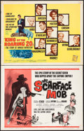 "Movie Posters:Crime, The Scarface Mob & Others Lot (Desilu, 1962). Half Sheets (4) (22"" X 28""). Crime.. ... (Total: 4 Items)"