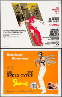 """Shamus & Others Lot (Columbia, 1972). Half Sheets (9) (22"""" X 28""""). Crime. ... (Total: 9 Items)"""