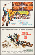 """Movie Posters:Action, Taras Bulba & Others Lot (United Artists, 1962). Half Sheets (8) (22"""" X 28"""") Frank McCarthy Artwork. Action.. ... (Total: 8 Items)"""