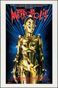 "Movie Posters:Science Fiction, Metropolis (Cinecom, R-1984). One Sheet (27"" X 41""). ScienceFiction.. ..."