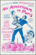 """Movie Posters:Musical, An American in Paris (MGM, R-1963). One Sheet (27"""" X 41""""). Musical.. ..."""