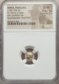 Ancients:Greek, IONIA. Phocaea. Ca. 387-326 BC. EL sixth stater or hecte. ...
