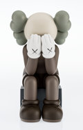 Post-War & Contemporary, KAWS (American, b. 1974). Companion- Passing Through(Brown), 2013. Painted cast vinyl. 11-7/8 x 6-1/2 x 7-3/8inches (3...