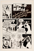 Original Comic Art:Panel Pages, Marc Hempel and Mark Wheatley Blood of the Innocent Panel Pages Original Art Group of 4 (WaRP Graphics, 1986).... (Total: 4 Original Art)