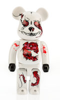 Fine Art - Sculpture, American:Contemporary (1950 to present), BE@RBRICK X Seher. Headquarter 400%, 2010. Painted castvinyl. 10-3/4 x 5 x 3-1/2 inches (27.3 x 12.7 x 8.9 cm). Stamped...