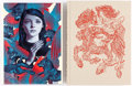 Memorabilia:Books, James Jean - Signed Art Books Group of 2 (Various Publishers,2008-2014).... (Total: 2 Items)