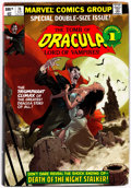 Memorabilia:Comic-Related, Tomb of Dracula Omnibus Volume 2 Signed and Remarqued by Gene Colan (Marvel, 2009) Condition: NM-....