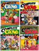 The Complete Crumb Comics #3-5 and 8 Limited Signed Numbered Hardcover Editions Group (Fantagraphics Books, 1987-88)...