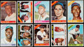 Baseball Cards:Sets, 1966 Topps Baseball Complete Set (598) With Extras Including Signed Elston Howard. ...