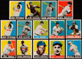 Baseball Cards:Lots, 1948-49 Leaf Baseball Collection (14) With Jackie Robinson &Phil Rizzuto....