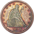 1876 20C MS66+ PCGS Secure. CAC. BF-2, R.2....(PCGS# 5299)