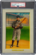 Baseball Cards:Singles (Pre-1930), 1910-11 T3 Turkey Red Fred Clarke #8 (Checklist-NO Mail-In Offer) PSA EX-MT 6....