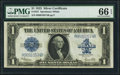 Large Size:Silver Certificates, Fr. 237 $1 1923 Silver Certificate PMG Gem Uncirculated 66 EPQ.....