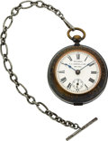 Timepieces:Pocket (pre 1900) , R.H. Ingersoll & Bro. Columbian Exposition Chicago 1893Patented Watch. ...