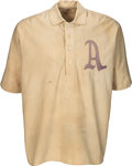 Baseball Collectibles:Uniforms, Circa 1906 Jack Coombs Game Worn Philadelphia Athletics Rookie-Era Jersey, MEARS A9.. ...