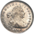 Early Half Dimes, 1796/5 H10C V-2, LM-2, R.6, MS60 NGC....
