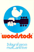 "Movie Posters:Rock and Roll, Woodstock (Warner Brothers, 1970). One Sheet (27"" X 41"") ""Wilding"" Style C, Arnold Skolnick Artwork.. ..."