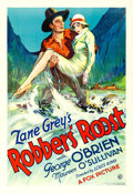 "Movie Posters:Western, Robbers' Roost (Fox, 1932). One Sheet (28.5"" X 41""..."