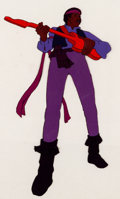 Animation Art:Production Cel, American Pop Jimi Hendrix Production Cel (Ralph Bakshi,1981)....