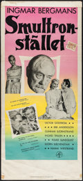 """Movie Posters:Foreign, Wild Strawberries (Swensk, 1957). Swedish Insert (12.5"""" X 27.5""""). Foreign.. ..."""