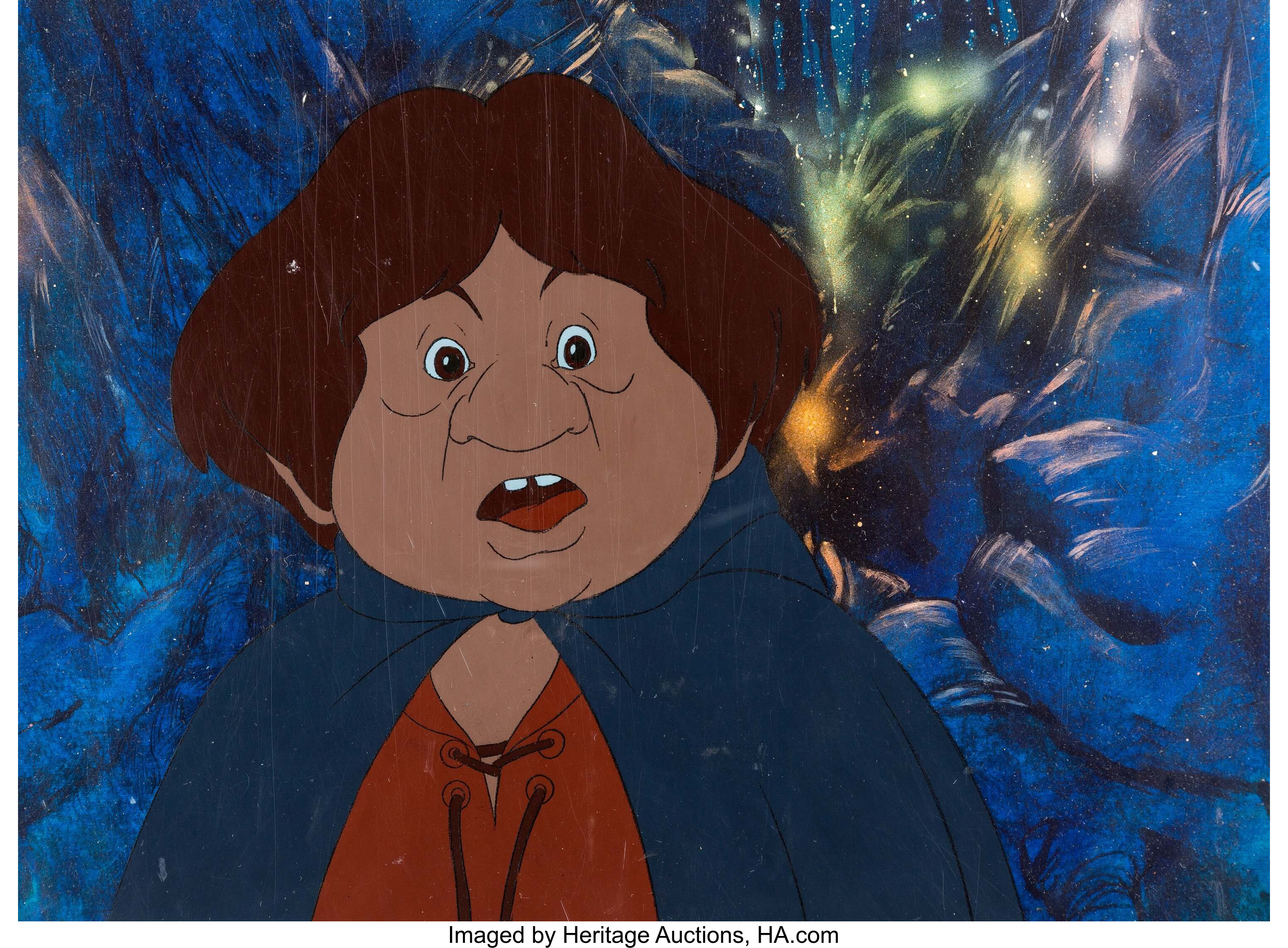 The Lord Of The Rings Samwise Gamgee Production Cel And Master Lot 13199 Heritage Auctions