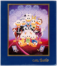 The Fine Art of Walt Disney's Donald Duck by Carl Barks Limited Numbered Slipcase Edition #895/1875 (Another Rainbow P...