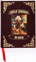 Memorabilia:Disney, Carl Barks Uncle Scrooge McDuck His Life and Times Hardcover Limited Numbered Edition #457/5000 (Celestial Arts, 1981)...