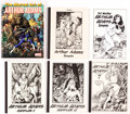 Memorabilia:Books, Arthur Adams Art Book Group of 6 (Various Publishers, 2003-15).... (Total: 6 Items)