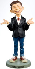 Memorabilia:Comic-Related, Alfred E. Neuman Limited Edition Figurine (Warner Brothers Studio Store, 1994)....