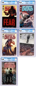 Modern Age (1980-Present):Horror, The Walking Dead #100 CGC-Graded Cover Variants Group of 5 (Image,2012) CGC NM/MT 9.8.... (Total: 5 Comic Books)