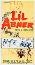 """Movie Posters:Musical, Li'l Abner (Paramount, 1959). Folded, Fine/Very Fine. Three Sheet(41"""" X 79""""). Musical.. ..."""